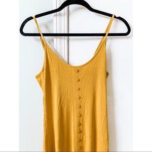 ✨ NWT Button Midi Dress